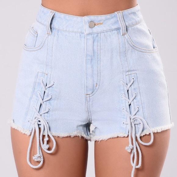 714ac03c877b Fashion Nova 'Show The Sweet Stuff - Denim' Small.  M_5a3eb5a2c9fcdf3412057579. Other Shorts ...